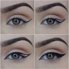35 besten Ideen Make-up Eyeliner Winged Tutorials Augenbrauen – … - Makeup Tutorial Over 40 Eye Makeup Steps, Makeup Tips, Beauty Makeup, Beauty Tips, Makeup Ideas, Beauty Hacks, Makeup Inspiration, Makeup Tutorials, Makeup Hacks
