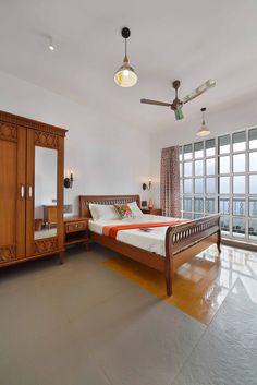 Panchgani Villa – Home Decor Indian Style Bedrooms, Indian Bedroom Design, Indian Bedroom Decor, Home Bedroom Design, Ethnic Home Decor, Bedroom Wall Designs, Traditional Bedroom Decor, Indian Home Decor, Bedroom Ideas