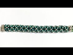 Beadweaving Basics: Tubular Chenille Stitch With Border - YouTube