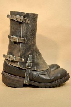 VENTA hombres de cuero botines 05 botas no incluidos envío