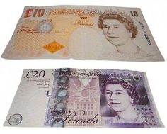 £10 / £20 NOVELTY BANKNOTE MONEY POUND BEACH BATH TOWEL  Pattern	  Our Price: £7.99