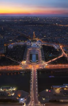 Trocadero from the Eiffel Tower by Cal Redback