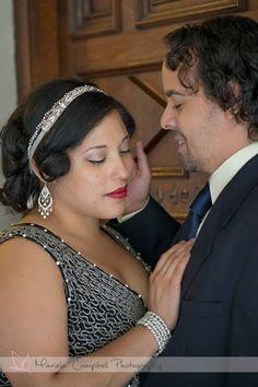The Artist Meets Gatsby Engagement @ The Mission Inn     http://marielacampbell.com