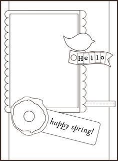 Basic Card Sketch : 4.30.12