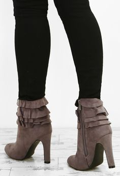 2c0d1fdfeee Missyempire - Lolita Mocha Suede Thigh High Heeled Boots