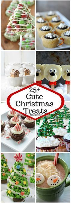 25+ Cute Christmas Treats