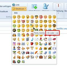 Emoticons for Email Windows Mail | Emoticon Facebook Smiley Codes