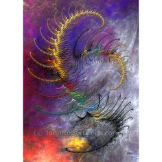 Jazz Festival by John Robert Beck. This art was created in 2011. Jazz Festival is an abstract. The colors are bold and seem to jump out at you.  ARTIST NOTE: As I was creating this art work, I was listening to some of my jazz albums. I think that it influenced the flavor of the art. - J.B.