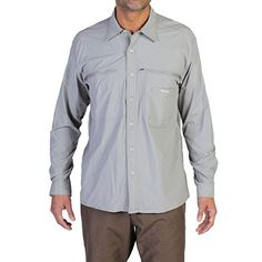 ExOfficio Mens Reef Runner Lite Long Sleeve Jacket Cement XXLarge >>> Want to know more, click on the image.