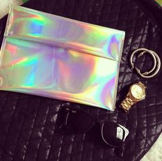 Outrange Holographic Clutch