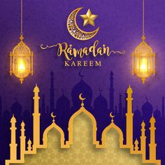 Ramadan Kareem or Eid mubarak 2019 greeting background Islamic with gold patterned and crystals on paper color background. Ramadan Mubarak Wallpapers, Mubarak Ramadan, Ramadan Wishes, Ramadan Greetings, Luxury Background, Futuristic Background, Wallpaper Wa, Galaxy Wallpaper, Poster Ramadhan