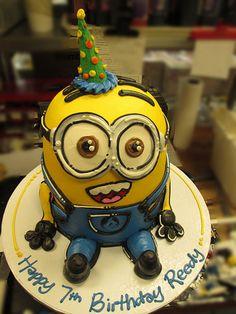 Minion cake by Don Buciak II