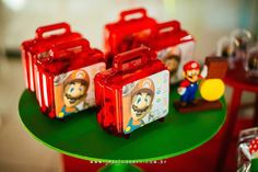Mario Lunch Boxes