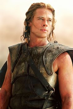 "Brad Pitt as Achilleus in ""Troy"", 2004"