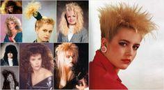 Pires coupes de cheveux des femmes annees 80