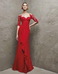 Descubre la colección de vestidos de madrina Pronovias 2016 Image: 12