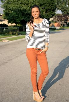 Rust and stripes