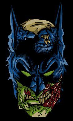 Zombie Batman by Arturo Liceaga, via Behance