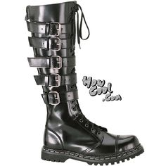 Gothic boot with buckles.  Demonia GRAVEL-20  $167.95
