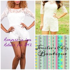 Available at Jenilee's Chic Boutique on facebook
