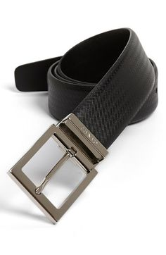 Canali Leather Belt available at #Nordstrom