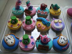 cupcakes! charlotte-s-birthday-party