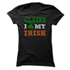 CLAIRE STPATRICK DAY - 0399 Cool Name Shirt ! - #unique gift #gift for girls. LIMITED TIME => https://www.sunfrog.com/LifeStyle/CLAIRE-STPATRICK-DAY--0399-Cool-Name-Shirt-.html?68278