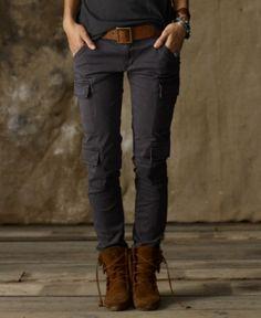 Denim & Supply Ralph Lauren Pants, Skinny Leg Cargo    denim & supply ralph ...    $98.00