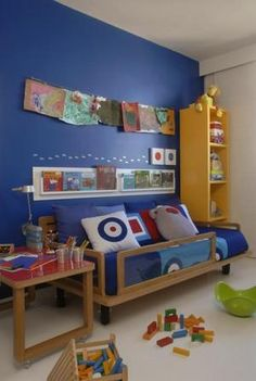Wall color for boys room
