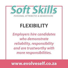 In job descriptions, employers often ask for a combination of soft and hard skills. Hard skills are related to specific technical knowledge and training while soft skills are personality traits such as leadership, communication or time management. Both types of skills are necessary to perform and advance in most jobs successfully. Training Materials, Career Success, Job Posting, Computer Programming, Job Description, Get The Job, Time Management, Problem Solving, Leadership