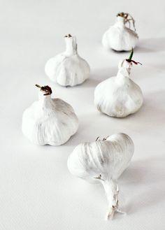 Garlic....white