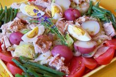 Salad Nicoise. Photo by Rita~