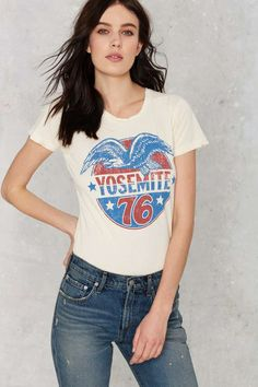 Midnight Rider Yosemite '76 Tee | Shop Clothes at Nasty Gal!