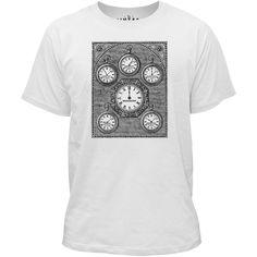 Mintage Antique International Clock Kids Fine Jersey T-Shirt