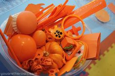 You Are The Roots: tot school - orange