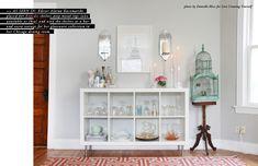 The Everygirl's 10 Favorite Ikea Finds // expedit shelves // $59.99 // styling by @Alaina Kaczmarski