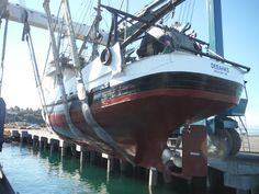 DEEAHKS was Launch from Platypus Marine (Located In Port Angeles Washington) on September 2014 after it had some repairs and replacements.