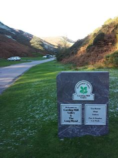 Carding Valley Mill - National Trust Picnic Spot, National Trust, Car Parking, Omega, Signs, Books, Livros, Libros, Livres