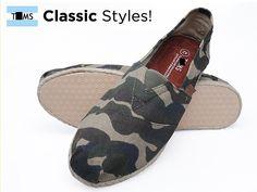 Toms Classics Men Camouflagecolor Outlet Sale