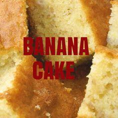 Moist Banana Cake Recipe, Healthy Banana Cakes, Easy Cake Recipes, Sweet Recipes, Dessert Recipes, Spicy Recipes, Buzzfeed Food Videos, China Food, Cafe Food