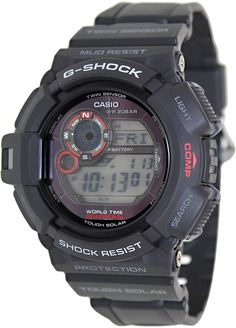 Looking for Casio Mens G-Shock Black Watch ? Check out our picks for the Casio Mens G-Shock Black Watch from the popular stores - all in one. Big Watches, G Shock Watches, Best Watches For Men, Cool Watches, Casio G-shock, Casio Watch, Casio G Shock Mudman, G Shock Black, G Shock Men