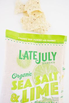 Late July Organic Sea Salt and Lime Tortilla Chips