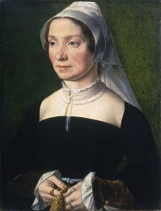 Wife of a Member of the de Hondecoeter Family (1543, unknown artist)
