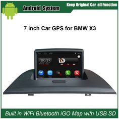 Upgraded Original Android Car Radio Player Suit to BMW X3 E83 2004-2009 Car Video Player Built in WiFi GPS Navigation Bluetooth