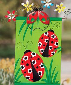 Look what I found on #zulily! Ladybug Bouquet Flag Holder #zulilyfinds