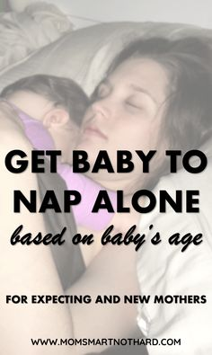 Getting baby to nap alone can be very challenging. Giving up the warmth and comfort of mom or dad's arms is a big milestone for babies. This articles gives some tips to get your baby napping independently for ages 4-12 months.