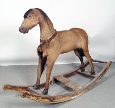 Rocking Horse Antique Rocking Horse, Rocking Horse Toy, Vintage Horse, Wooden Horse, Pull Toy, Carousel Horses, Kid Rock, Horse Art, Gliders