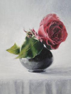 Flower Oil Painting By Ellos