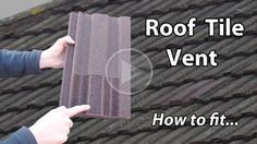 Install a roof tile vent