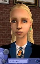Mod The Sims - UPDATED! - Luna Lovegood's radish earrings and butterbeer cork necklace